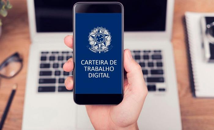 Carteira de trabalho digital já está disponível
